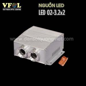 Nguon LED 12W 300x300 - NGUỒN LED 12W 2 CỔNG RGB