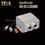 Nguon LED 12W DMX 150x150 - NGUỒN LED 12W DMX RGB