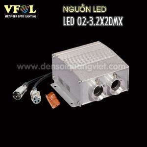 Nguon LED 12W DMX 300x300 - NGUỒN LED 12W DMX RGB