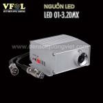 Nguon LED 6W DMX 150x150 - NGUỒN LED 6W DMX RGB