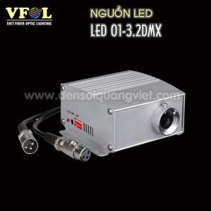 Nguon LED 6W DMX 300x300 - NGUỒN LED 6W DMX RGB