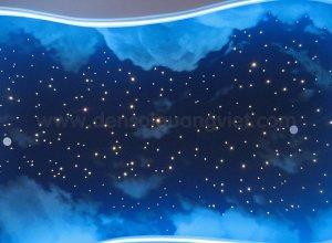 Tran sao ket hop may troi 1 300x220 - HÌNH ẢNH TRẦN SAO NHÂN TẠO