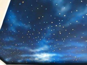 Tran sao ket hop phun may troi 3 300x225 - HÌNH ẢNH TRẦN SAO NHÂN TẠO