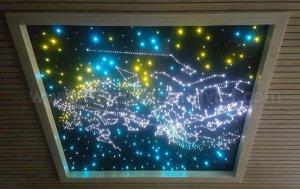 Tran sao phong chieu phim phong khach 1 300x189 - HÌNH ẢNH TRẦN SAO NHÂN TẠO