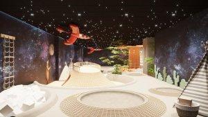 Tran sao nhan tao Sakura Montessori International School 3 300x169 - HÌNH ẢNH TRẦN SAO NHÂN TẠO